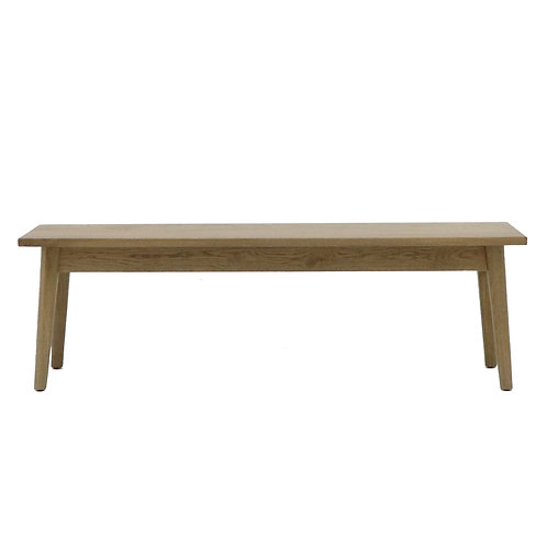 Vaasa Oak Bench - 185cm