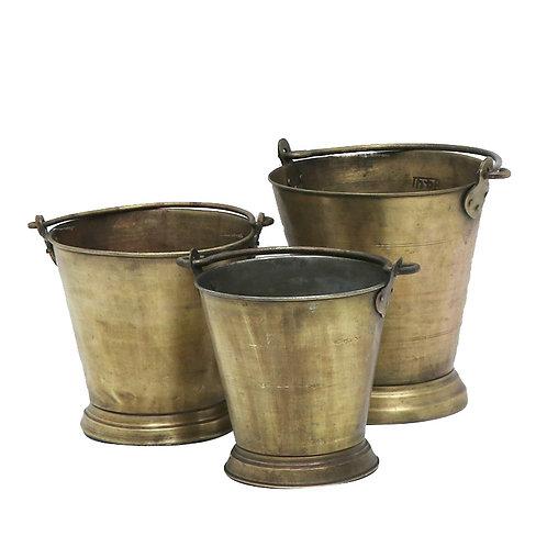 Original Kish Brass Ice Bucket - Large