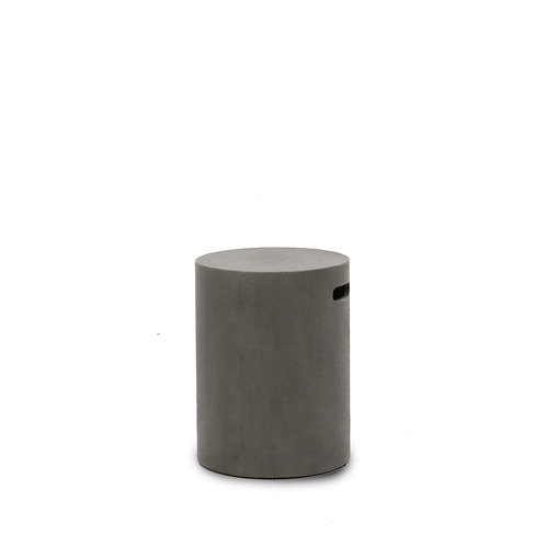 Concrete Pipe Stool  / Side Table - 46cm