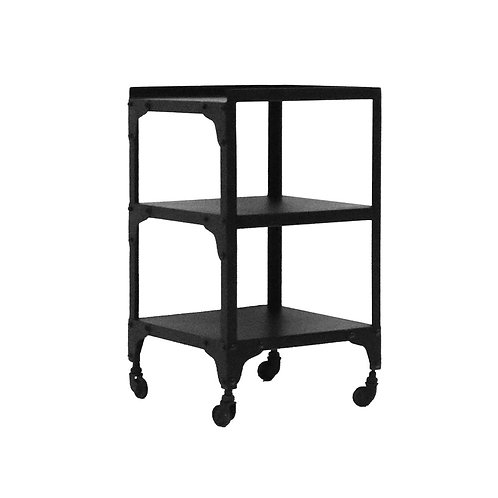 Bank Iron Side Table - 3 Tier