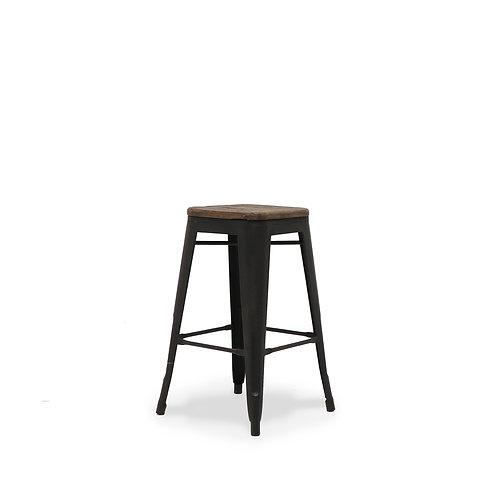 Colonial Stool, 65cm - Elm Seat
