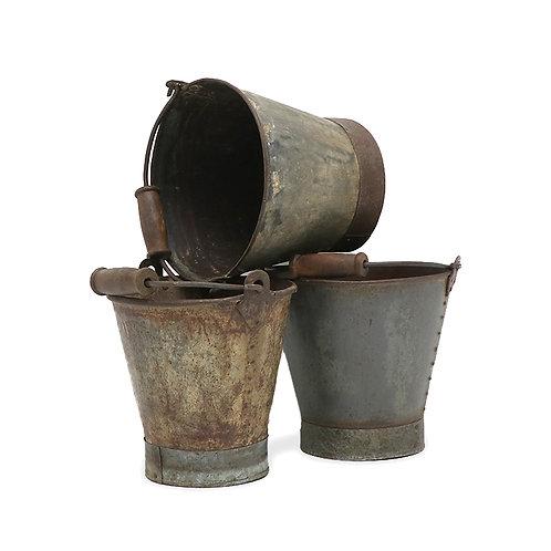 Original Bucket Wood Handle - Large