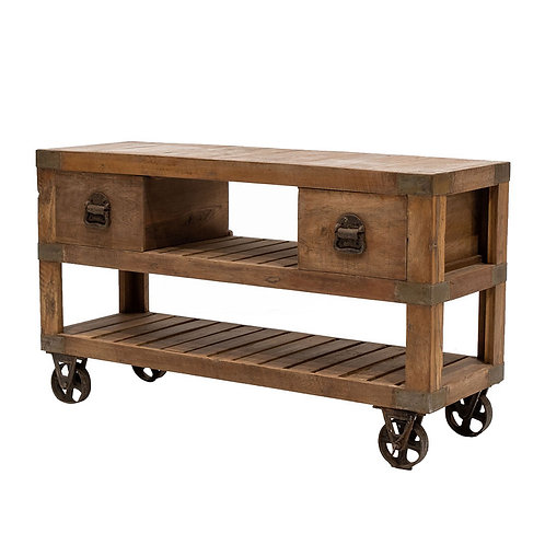 Railway Recycled Coffee Table / TV Unit