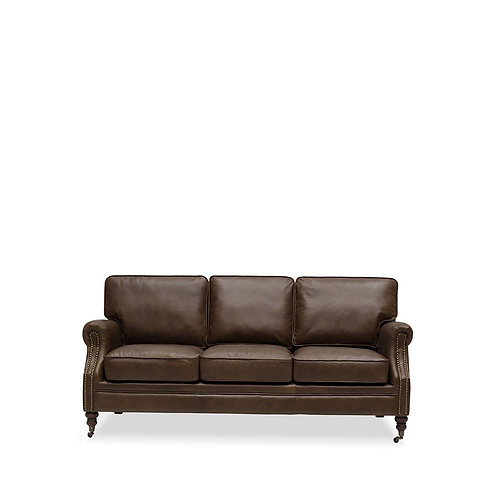 Brunswick Sofa - 3 Seater, Nutmeg