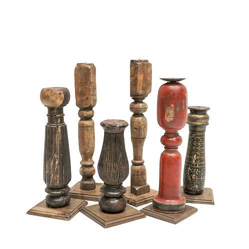 Original Raj Table Leg Candle Stick