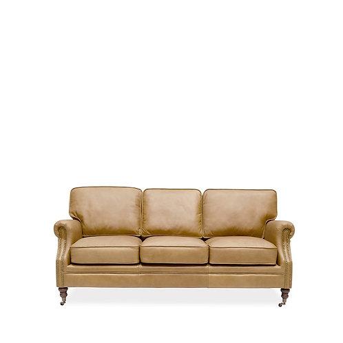 Brunswick Sofa - 3 Seater, Camel