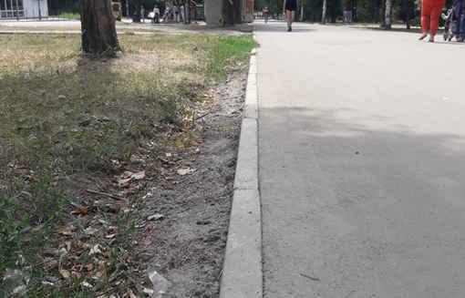 Тротуарный поребрик