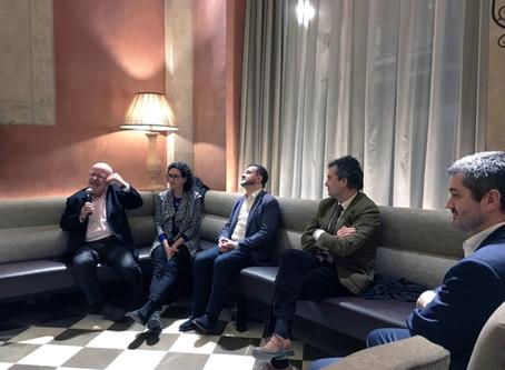 """Trobada de """"Catalunya Sí"""" amb Marta Rovira, Alfred Bosch i Josep Maria Terricabras"""