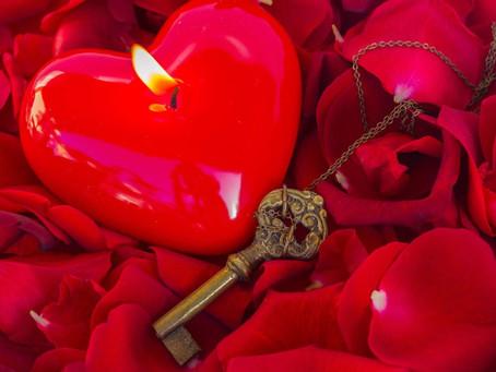 La magie rouge d'amour
