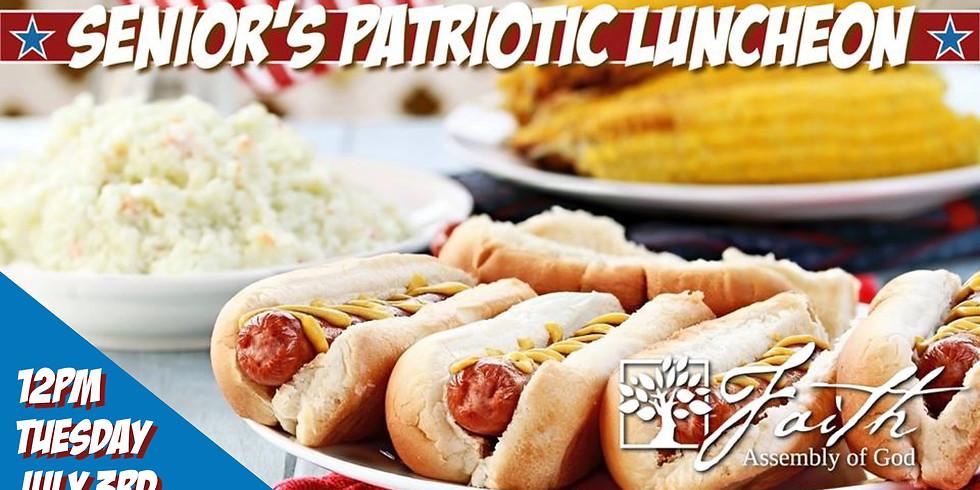 Senior Adults Patriotic Luncheon!