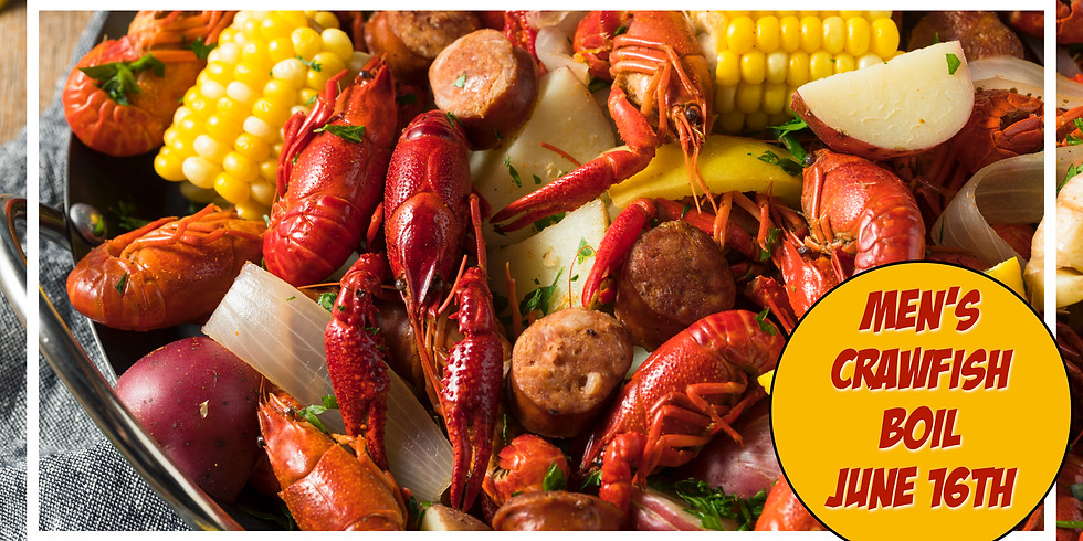 Men's Crawfish Boil!