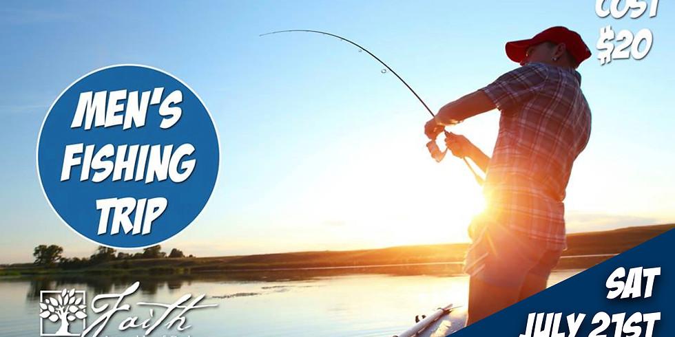 Men of Faith annual fishing trip!