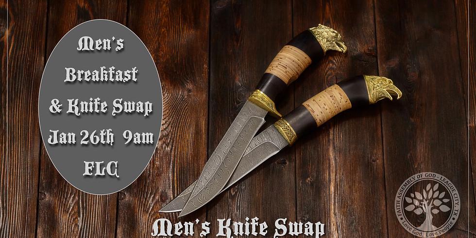 Men's Breakfast & Knife Swap
