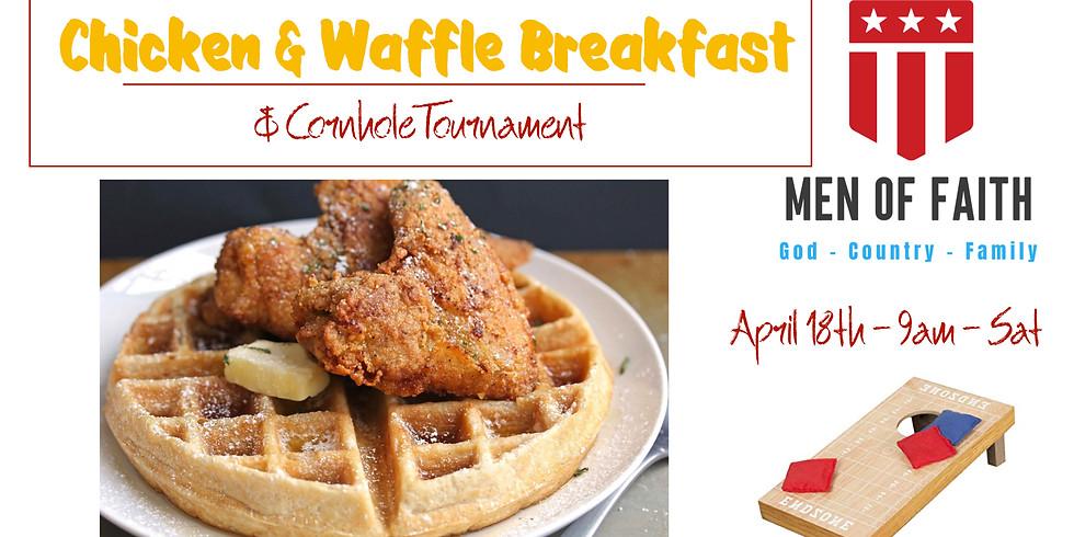 Men of Faith Chicken and Waffle Breakfast