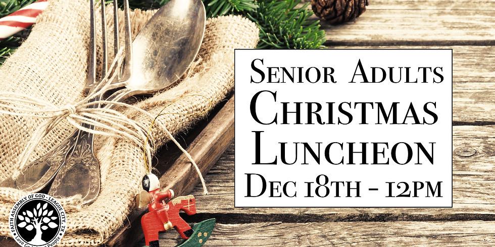 Senior Adults Christmas Luncheon!