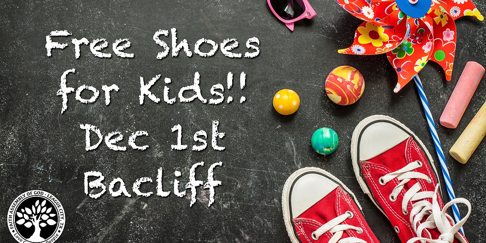 Free shoes for kids event!