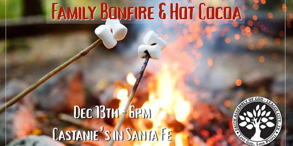 Family Bonfire & Hot Cocoa