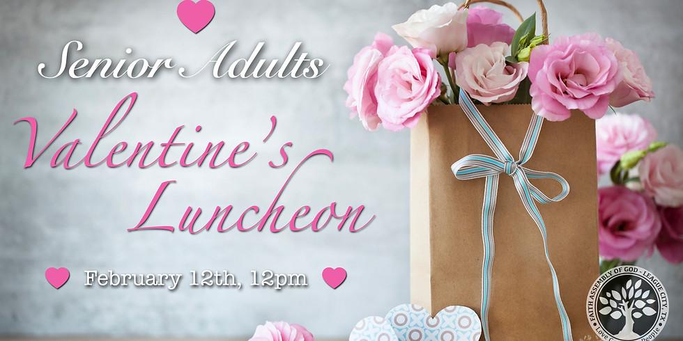 Senior Adults Valentine's Luncheon