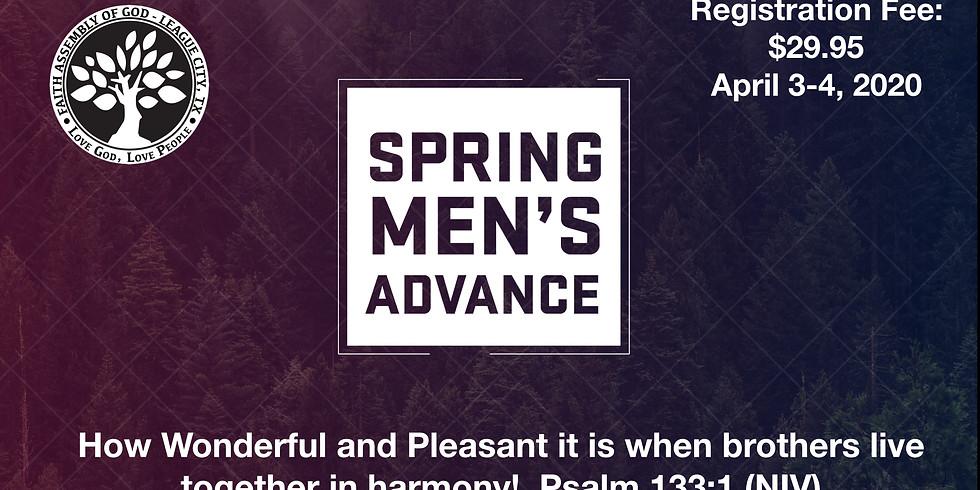 Men's Spring Advance