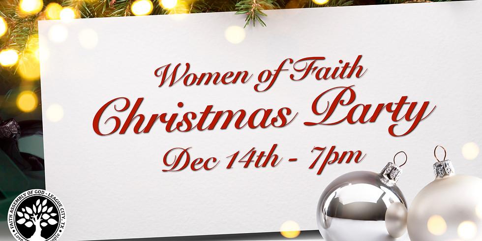 Women of Faith Christmas Party!
