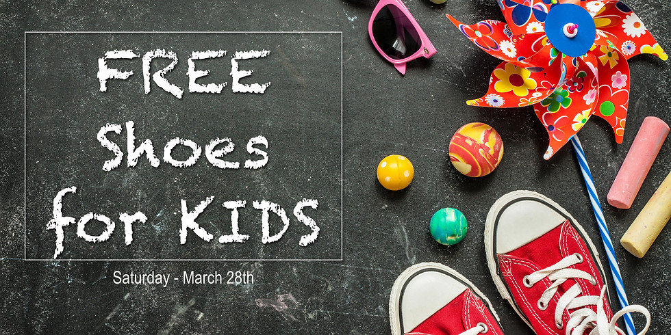 FREE shoes for Kids!