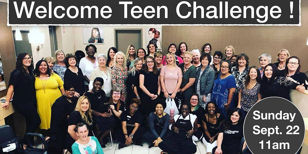 Women's Teen Challenge - Come early at 10 AM for breakfast and meet the women of Teen Challenge