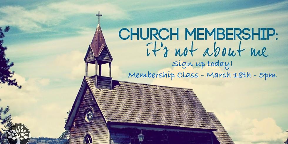 Membership Class!