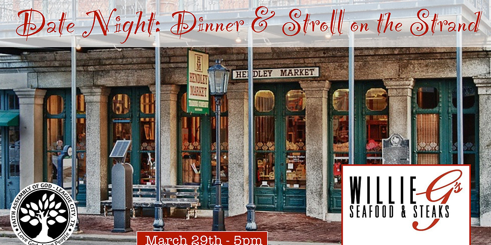 Date Night: Dinner & a Stroll on the Strand