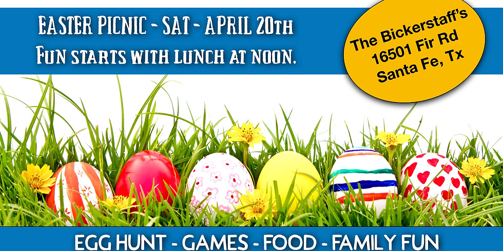 A Family Fun Event! Easter Picnic!
