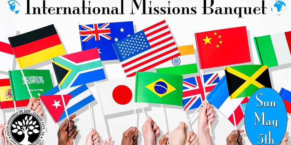 International Missions Banquet