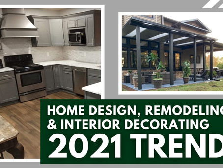 Top 6 Trends to Renew Your Home for 2021