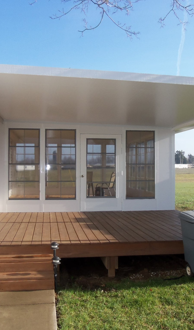 Patio Cover with Screen Enclosure