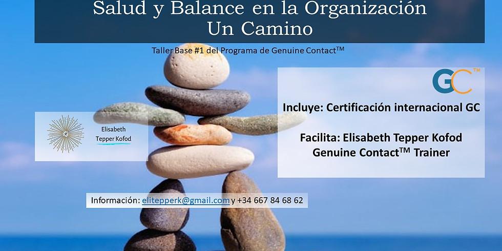 Salud y Balance en la Organización - Un Camino ONLINE
