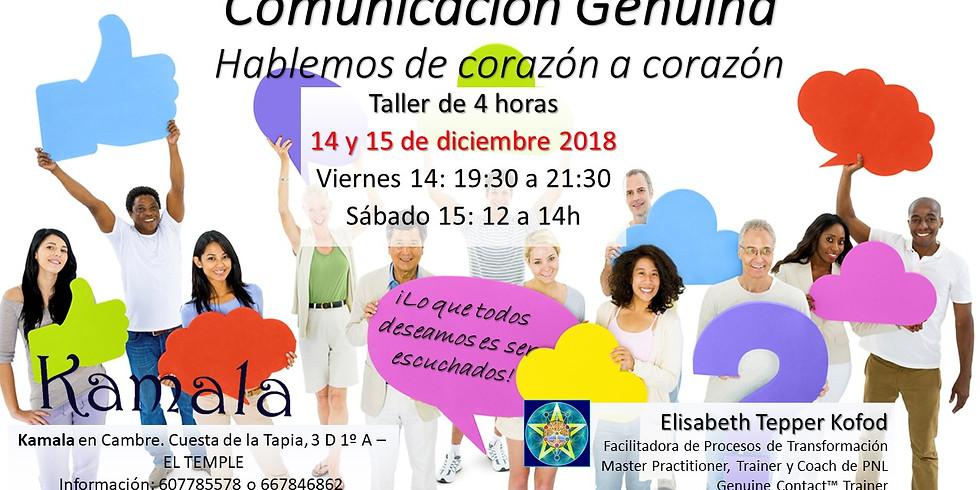 Comunicación Genuina. Hablemos desde el corazón