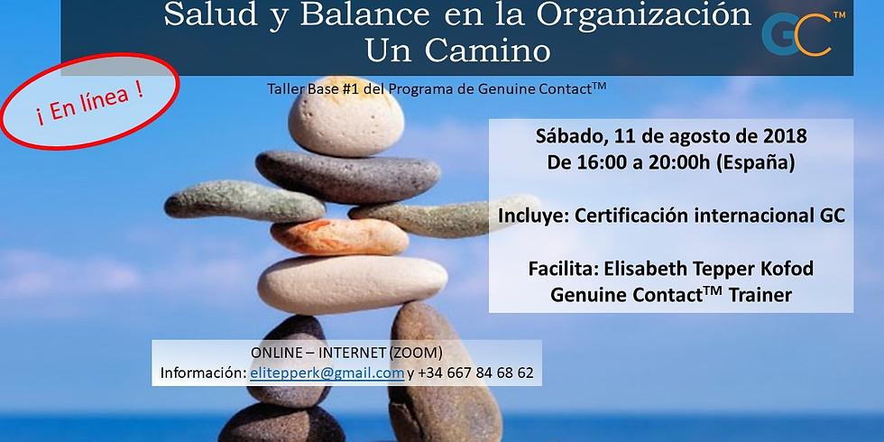 Salud y Balance en la Organización. Un Camino