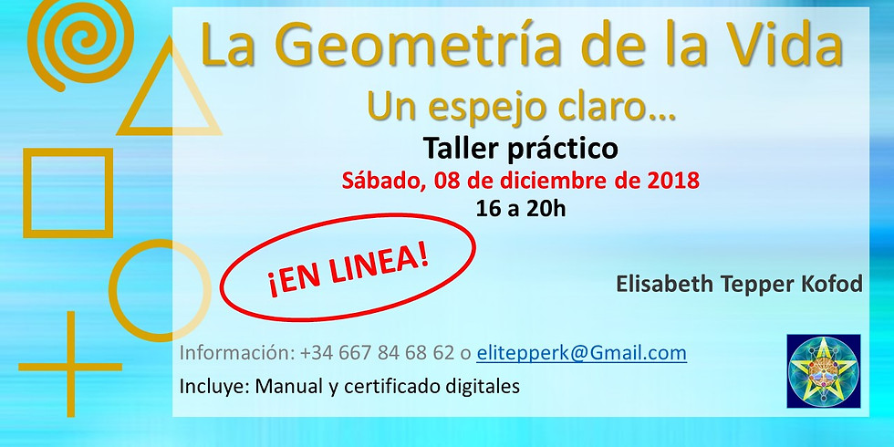 La Geometría de la Vida - Taller ONLINE