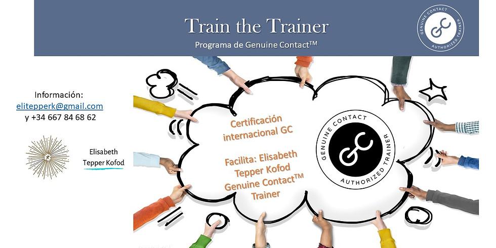 Train the Trainer del Programa de Genuine Contact