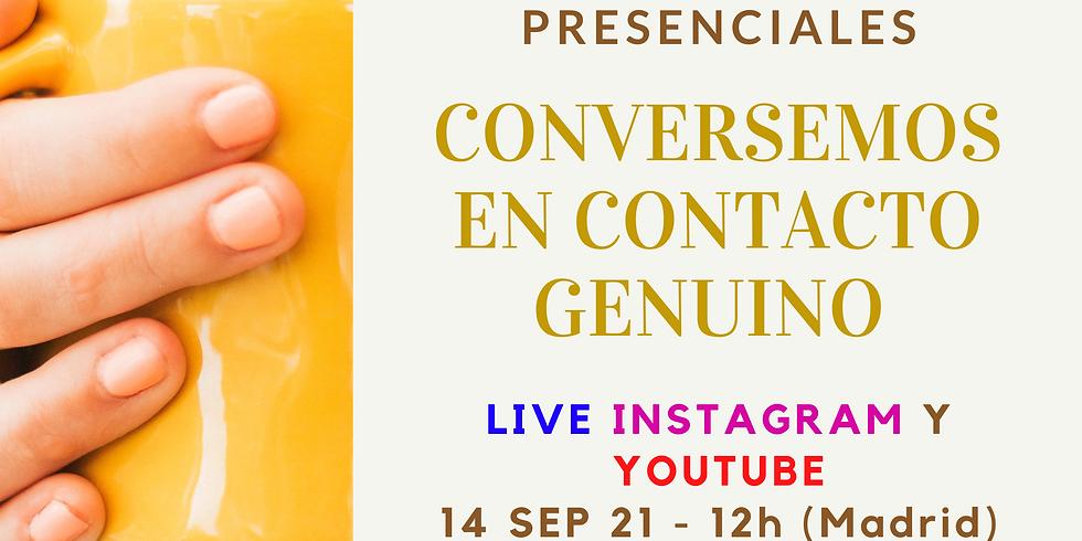 Live: CONVERSEMOS EN CONTACTO GENUINO - Esperanzas y Temores de Liderar o Facilitar Reuniones