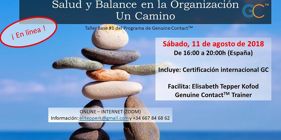 Salud y Balance en la Organización - Un Camino (en línea)