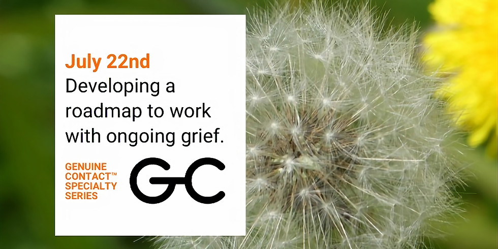 Developing a Roadmap to Work with Ongoing Grief