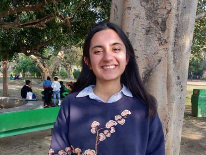 Volunteer Experience: Pratishtha Kohli