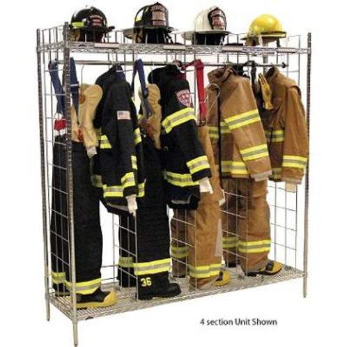 Single Sided Freestanding Ready Rack – 24″ Compartments