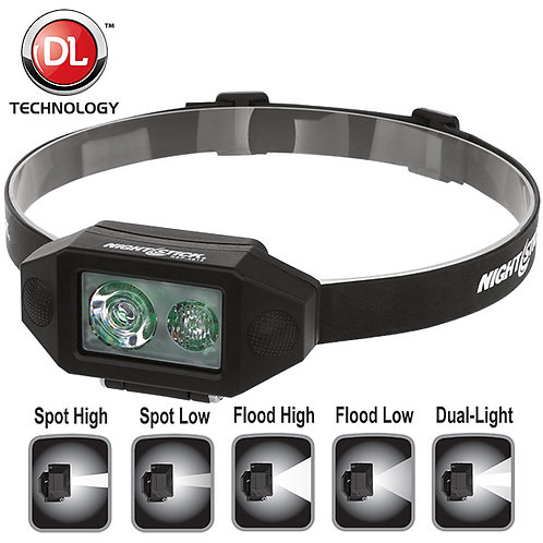 Low-Profile Multi-Function Dual-Light™ Headlamp