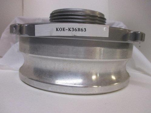 "Kochek Adapter Camlock Male to Rigid Male 6"" x 3"""