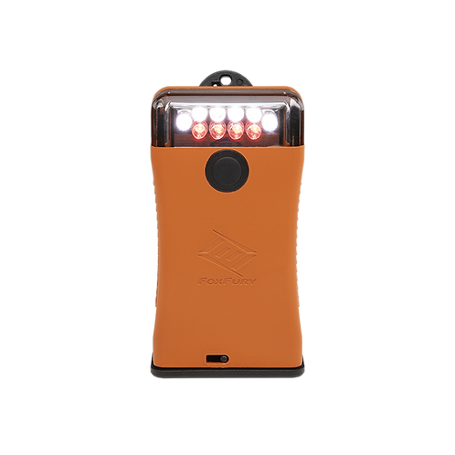 SCOUT CLIP LIGHT WITH WHITE AND RED LEDS