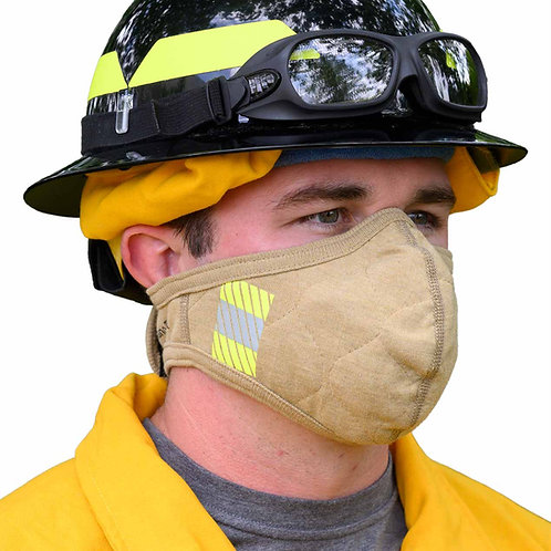 PGI BarriAire gold particulate face mask