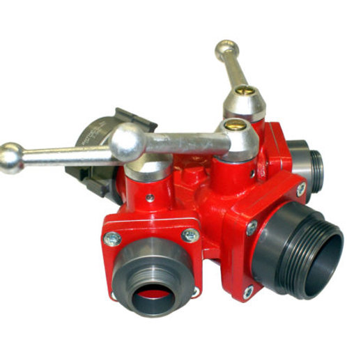 Small 3-Way Ball Valve or Wye (Water Thief)