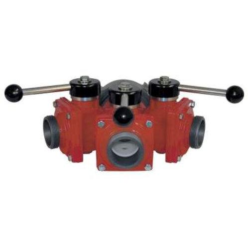 3 Way Hydrant Wye
