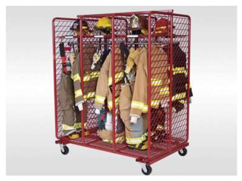 Mobile Red Rack