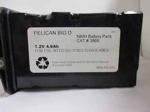 Pelican NIMH Battery Big D New